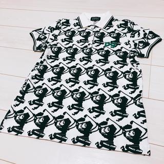 パーリーゲイツ(PEARLY GATES)のスポンジボブ✖︎パーリーゲイツ コラボポロシャツ(ポロシャツ)