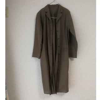 ジエンポリアム(THE EMPORIUM)のカーキ ロングシャツ(ロングワンピース/マキシワンピース)