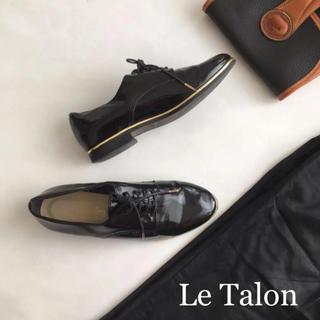 ルタロン(Le Talon)のルタロン レースアップシューズ レースアップ 35.5 22.5(ローファー/革靴)