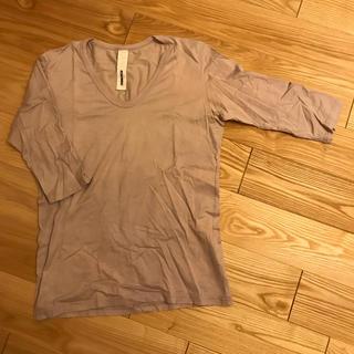 アタッチメント(ATTACHIMENT)のアタッチメント ATTACHMENT カットソー 5分袖 サイズ3(Tシャツ/カットソー(半袖/袖なし))