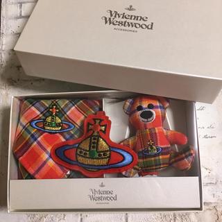 ヴィヴィアンウエストウッド(Vivienne Westwood)の値下げ中!新品♡ヴィヴィアンウエストウッドのタオルハンカチセット(タオル/バス用品)