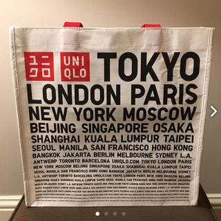 ユニクロ(UNIQLO)の新品未使用 日本未発売 UNIQLO ニューヨーク店購入 エコバッグ(エコバッグ)