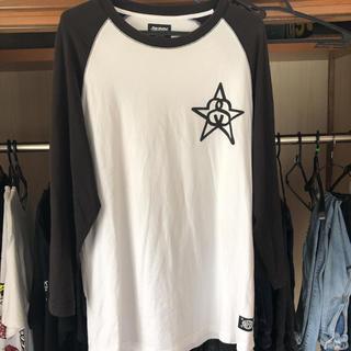 ステューシー(STUSSY)のSTUSSY ラグラン Tシャツ(Tシャツ/カットソー(七分/長袖))