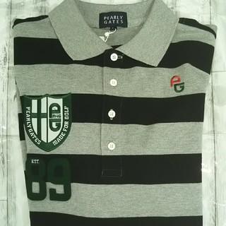 パーリーゲイツ(PEARLY GATES)の⭐️新品 パーリーゲイツ ポロシャツ MEN'S (ポロシャツ)