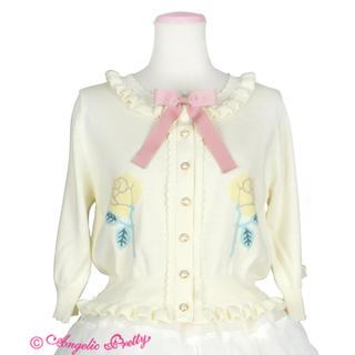 アンジェリックプリティー(Angelic Pretty)の☆Angelic Pretty☆Doll'sニットカーディガン☆新品未使用☆(カーディガン)