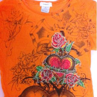 インポートオレンジTシャツ(Tシャツ(半袖/袖なし))