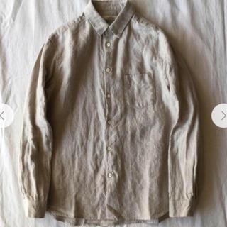 ネストローブ(nest Robe)のCONFECT リネンレギュラーカラーシャツ(シャツ)