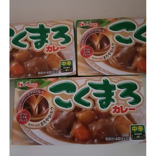 ハウスショクヒン(ハウス食品)のカレールー×3箱(その他)