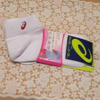 アシックス(asics)のasics (アシックス)靴下 3足組 23-25センチ(ソックス)
