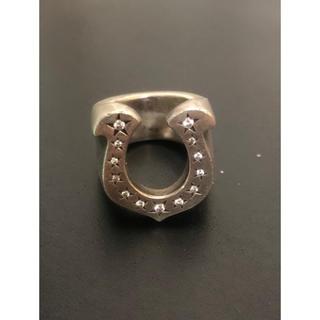 テンダーロイン(TENDERLOIN)のしゅん様テンダーロイン ホースシューリング シルバー ダイヤ ピンキー 10号 (リング(指輪))