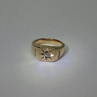 ご検討中 K18 ダイヤモンド付 指輪 新品(リング(指輪))