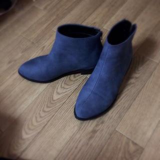 ブルー♡ショートブーツ(ブーツ)