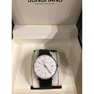 ユンハンス(JUNGHANS)のJUNGHANS ユンハンス マックスビル エディション2018 限定 クォーツ(腕時計(アナログ))