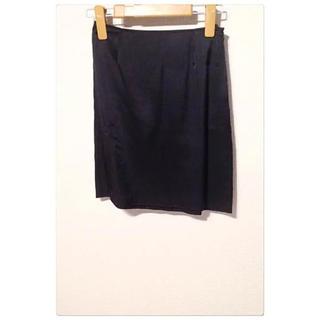 アニエスベー(agnes b.)のアニエスベー 黒のスカート(ミニスカート)