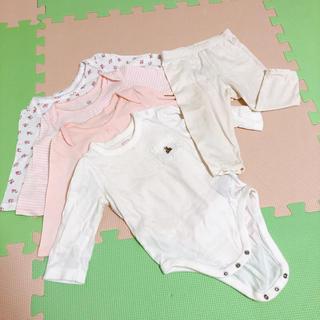 ベビーギャップ(babyGAP)のロンパース4枚、ズボンセット(ロンパース)