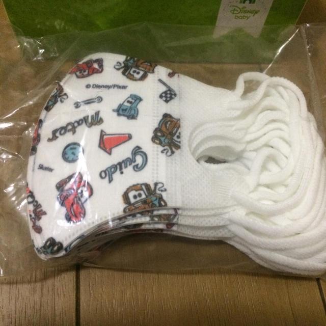 マスク who 、 Disney - ベビー立体マスク カーズ 8枚の通販
