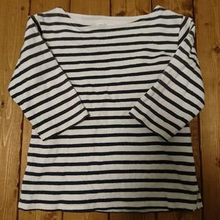 ビームス(BEAMS)のビームスミニ☆七分袖ボーダーカットソー110(Tシャツ/カットソー)