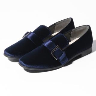 アーバンリサーチ(URBAN RESEARCH)の新品♡定価6490円 アーバンリサーチ シューズ ブルー系  22.5(ローファー/革靴)