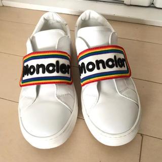 モンクレール(MONCLER)のMONCLER 正規品 スニーカー  美品(スニーカー)