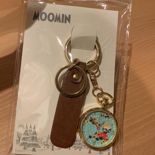 サマンサモスモス(SM2)の新品 SM2 ムーミン キーチェーンウォッチ ブラウン(腕時計)