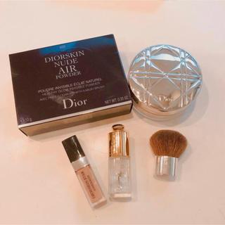 ディオール(Dior)のディオール  セット ルースパウダー  コンシーラー ネイル ブラシ(コンシーラー)