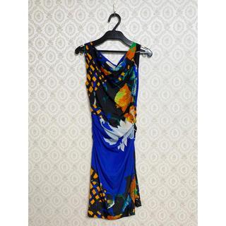 エトロ(ETRO)の定価13万円 ETRO エトロ 柄物ワンピース ドレス(ミニワンピース)