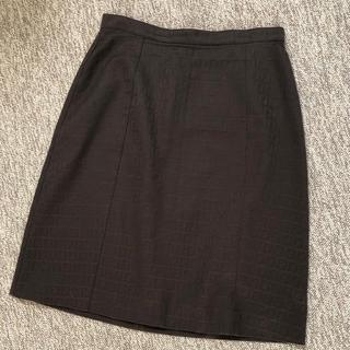 フェンディ(FENDI)のFENDI スカート ズッカ柄(ひざ丈スカート)