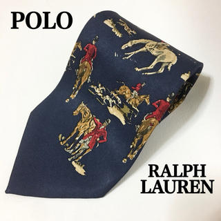 ポロラルフローレン(POLO RALPH LAUREN)のPOLO by Ralphlauren ポロラルフローレン 馬柄 ネクタイ(ネクタイ)