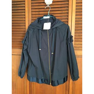 クチュールブローチ(Couture Brooch)の袖フリルブルゾン(ブルゾン)