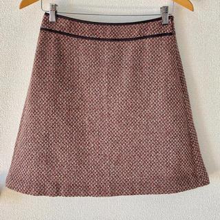 エヌナチュラルビューティーベーシック(N.Natural beauty basic)のNBB レトロ柄スカート(ミニスカート)