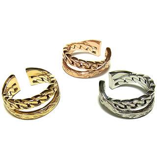 ハワイアンジュエリー リング K14 サージカルステンレス ユニセックス(リング(指輪))