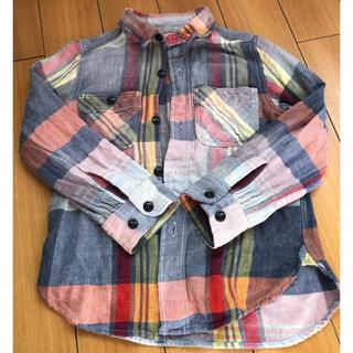 デニムダンガリー(DENIM DUNGAREE)の専用【denim dungaree】kids チェックシャツ(ブラウス)