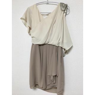 グレースコンチネンタル(GRACE CONTINENTAL)のグレースコンチネンタル ドレス ワンピース(ひざ丈ワンピース)