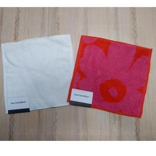 マリメッコ(marimekko)の新品 マリメッコ ハンドタオル2枚組(タオル/バス用品)