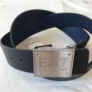 エンポリオアルマーニ(Emporio Armani)のエンポリオ アルマーニ EA7 ベルト 黒 紺(ベルト)
