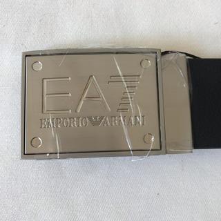 エンポリオアルマーニ(Emporio Armani)のエンポリオ アルマーニ ベルト 黒 紺 フリーサイズ(ベルト)