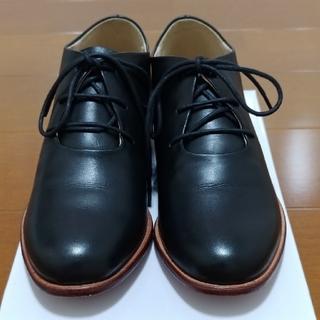 サマンサモスモス(SM2)の週末限定 サマンサモスモス ツハル 新品レザーハイカットシューズです。(ローファー/革靴)
