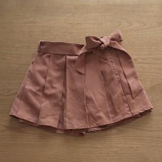 イングファースト(INGNI First)のイングファースト 140 キュロット ブラウン リボン(スカート)