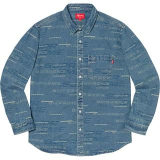 シュプリーム(Supreme)の【定価】Supreme Dimensions Logo Denim Shirt(シャツ)
