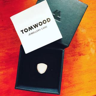 Tom wood トムウッド リング ホワイトアガット(リング(指輪))