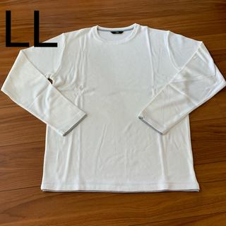 ニジュウサンク(23区)の23区HOMME メンズ カットソー ホワイト 50 LL(Tシャツ/カットソー(七分/長袖))