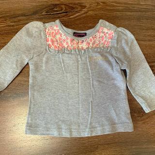 80 女の子 長袖Tシャツ(Tシャツ)