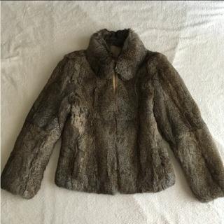 リアルファー ラビットのジャケット(毛皮/ファーコート)