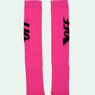 オフホワイト(OFF-WHITE)のoff white wings socks pink ssense購入(ソックス)