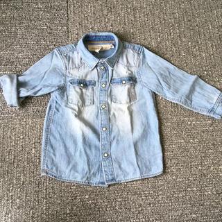 エイチアンドエム(H&M)のH&M デニムシャツ 92(ジャケット/上着)