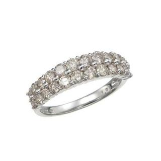 18K WG ダイヤモンドリング 計0.5CTUP(リング(指輪))
