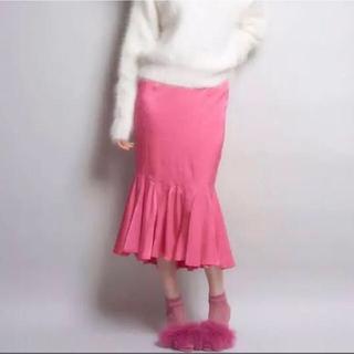 リルリリー(lilLilly)のマーメイドスカート(ひざ丈スカート)