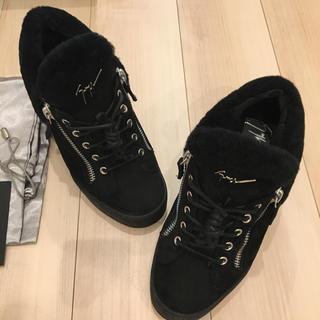 ジュゼッペザノッティ(GIUZEPPE ZANOTTI)のジュゼッペザノッティ ムートンインソールブーツ、スニーカー えりまま様お取り置き(ブーツ)