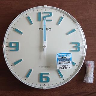 カシオ(CASIO)のカシオ 電波掛時計 ホワイト (掛時計/柱時計)