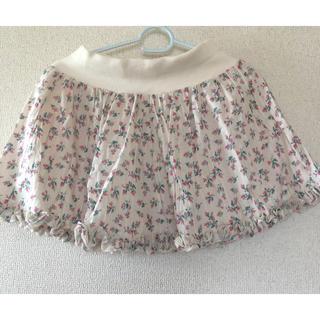 バービー(Barbie)のBarbie 花柄 スカート(ミニスカート)